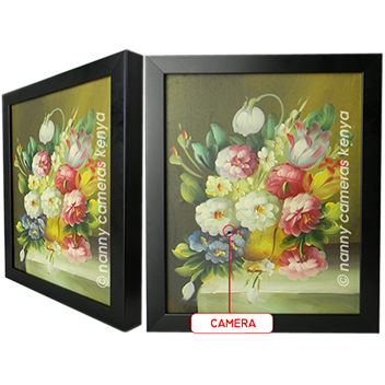 This Is An Exquisite Hand Made Oil Wall Painting That In Addition To Adding Beautiful Aesthetics To Your Home Doubles Up As Discreet Nanny Camera